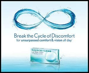Bausch & Lomb Ultra Contact Lenses, Ladner BC