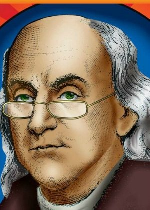 ben franklin - reading glasses